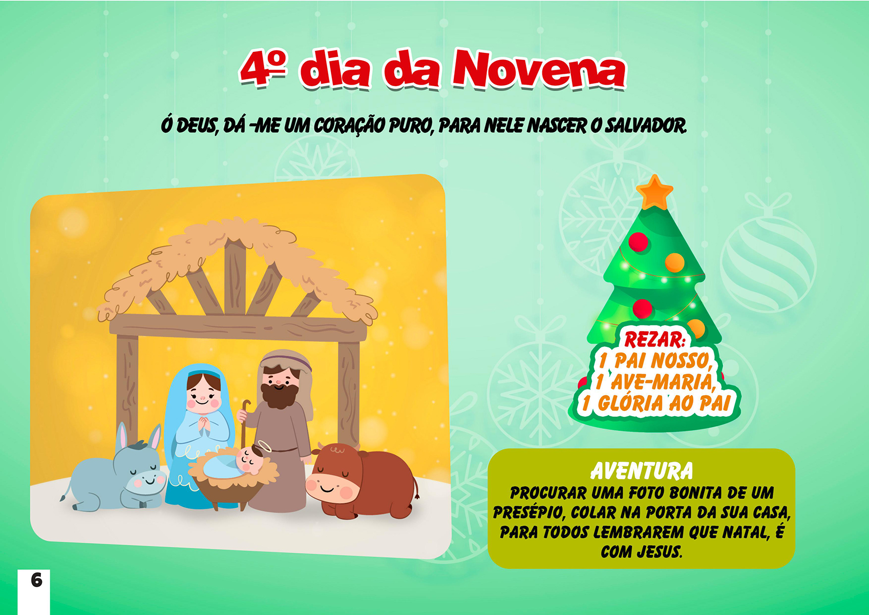4º dia da Novena de Natal