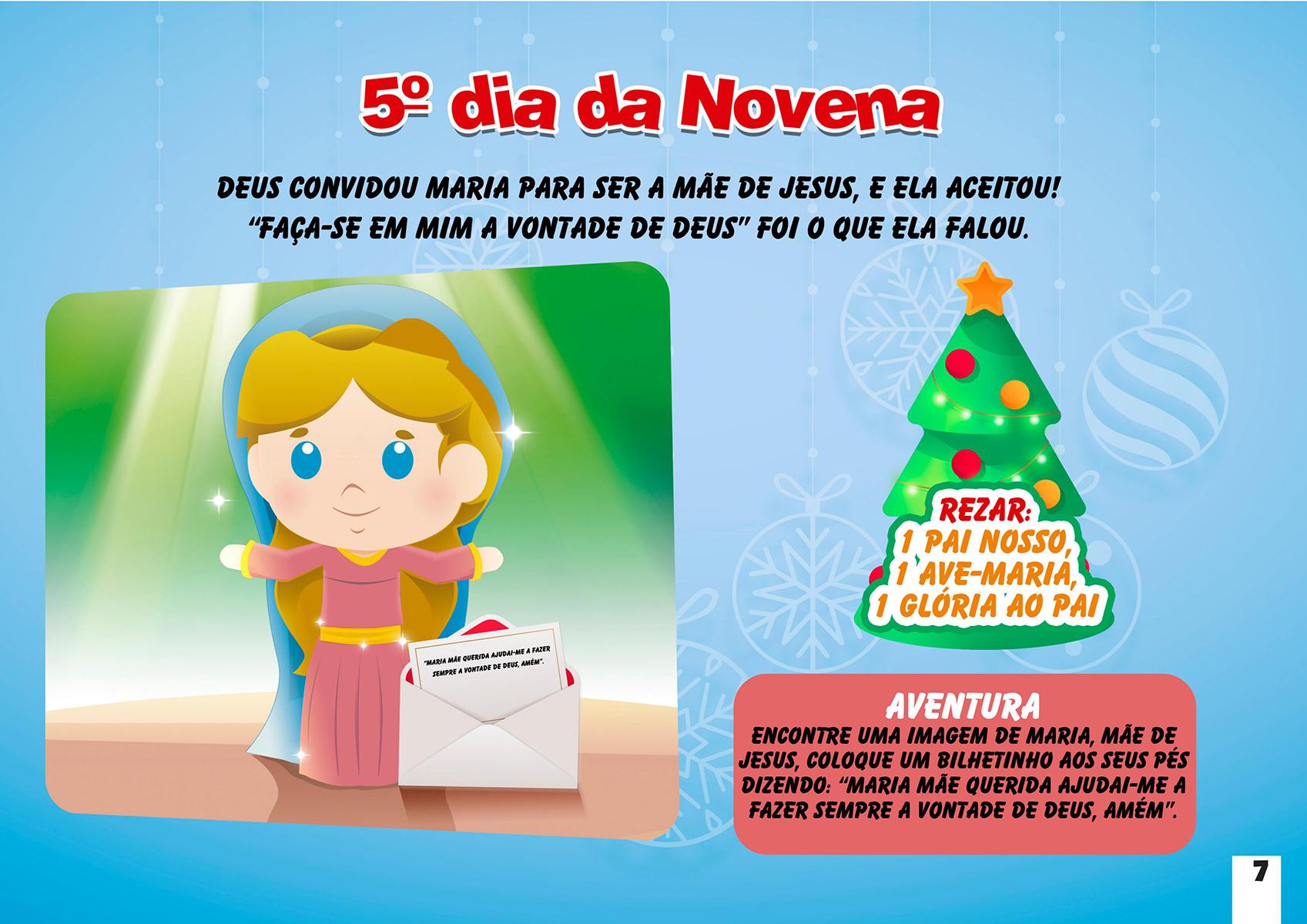 5º dia da Novena de Natal