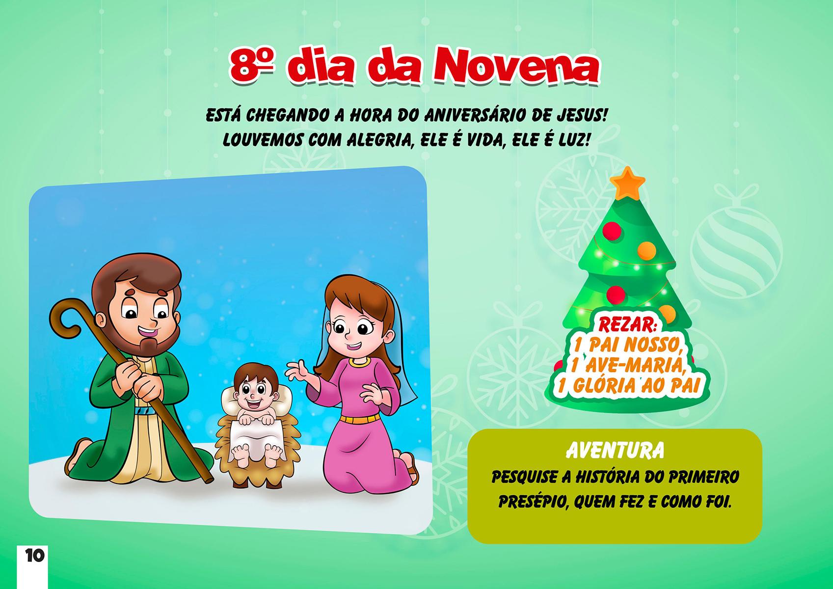 8º dia da Novena de Natal
