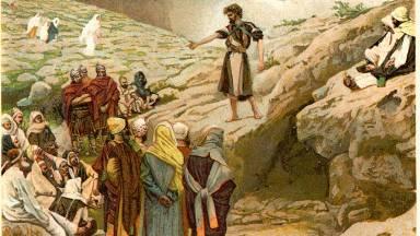 Qual é a presença de João Batista no Advento?