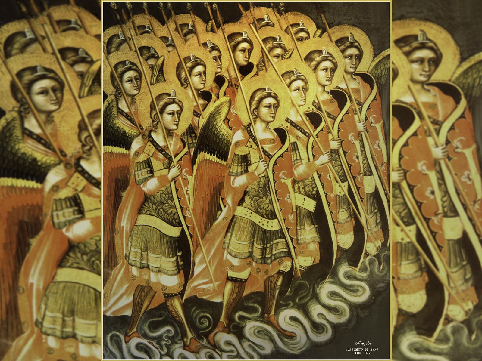 Santos anjos do coro das potestades: tropa de choque do céu