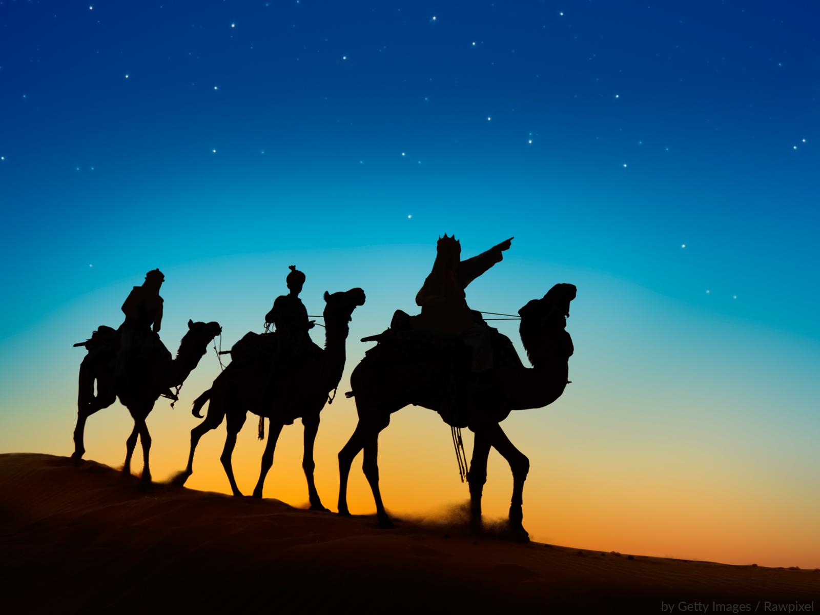 Sigamos o caminho dos Magos que nos leva para Cristo