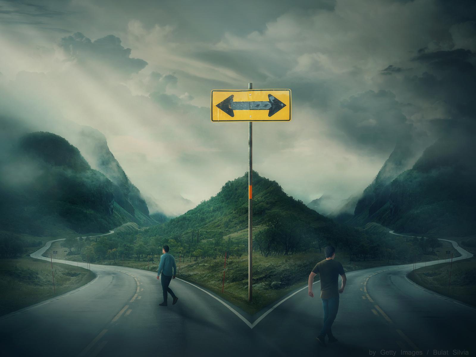 O que tem no fim da estrada Já parou refletir sobre isso