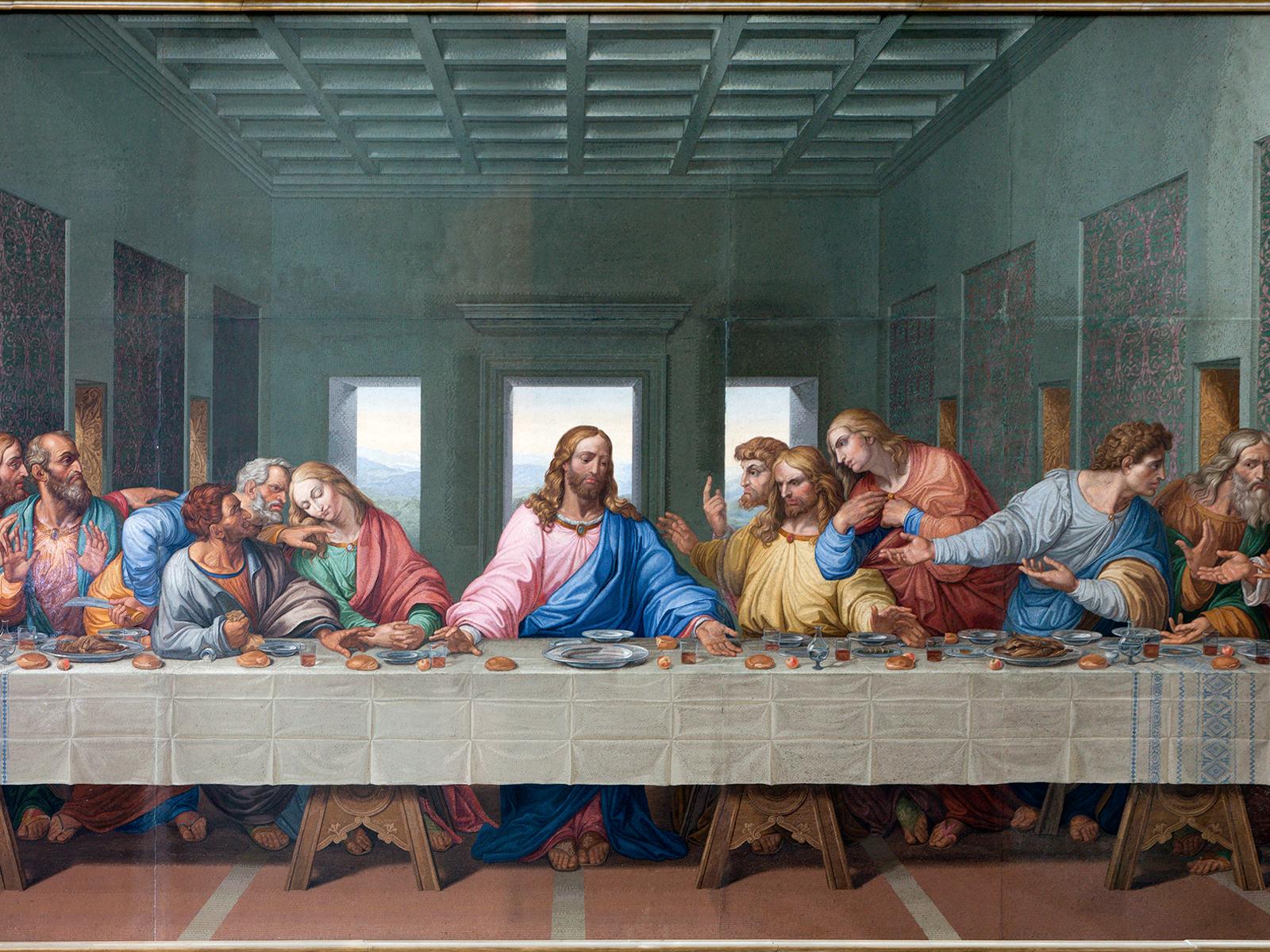 Cristo sacerdote instituiu o sacramento do Amor