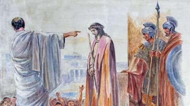 Jesus Cristo, Rei diante de Pilatos
