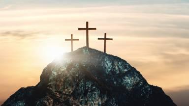 A caminho do calvário, Jesus carregou os pecados do mundo