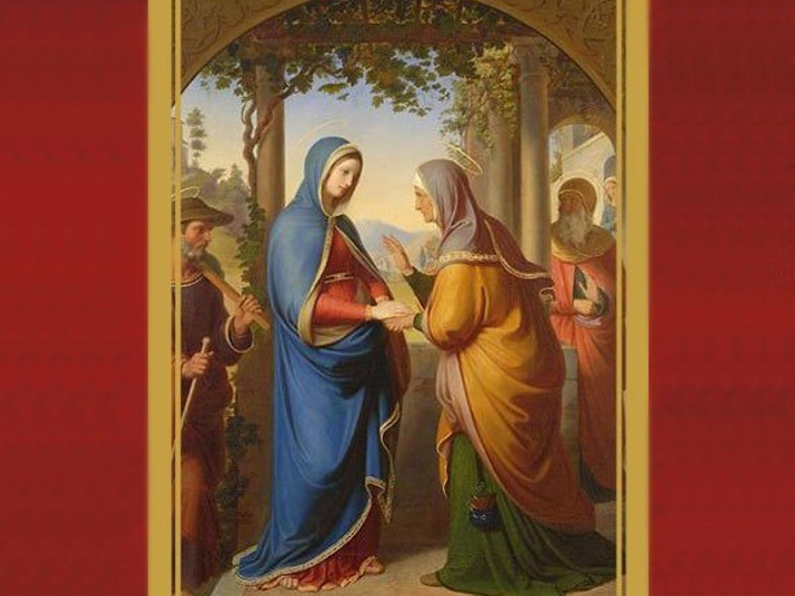 A alegria da visitação de Nossa Senhora