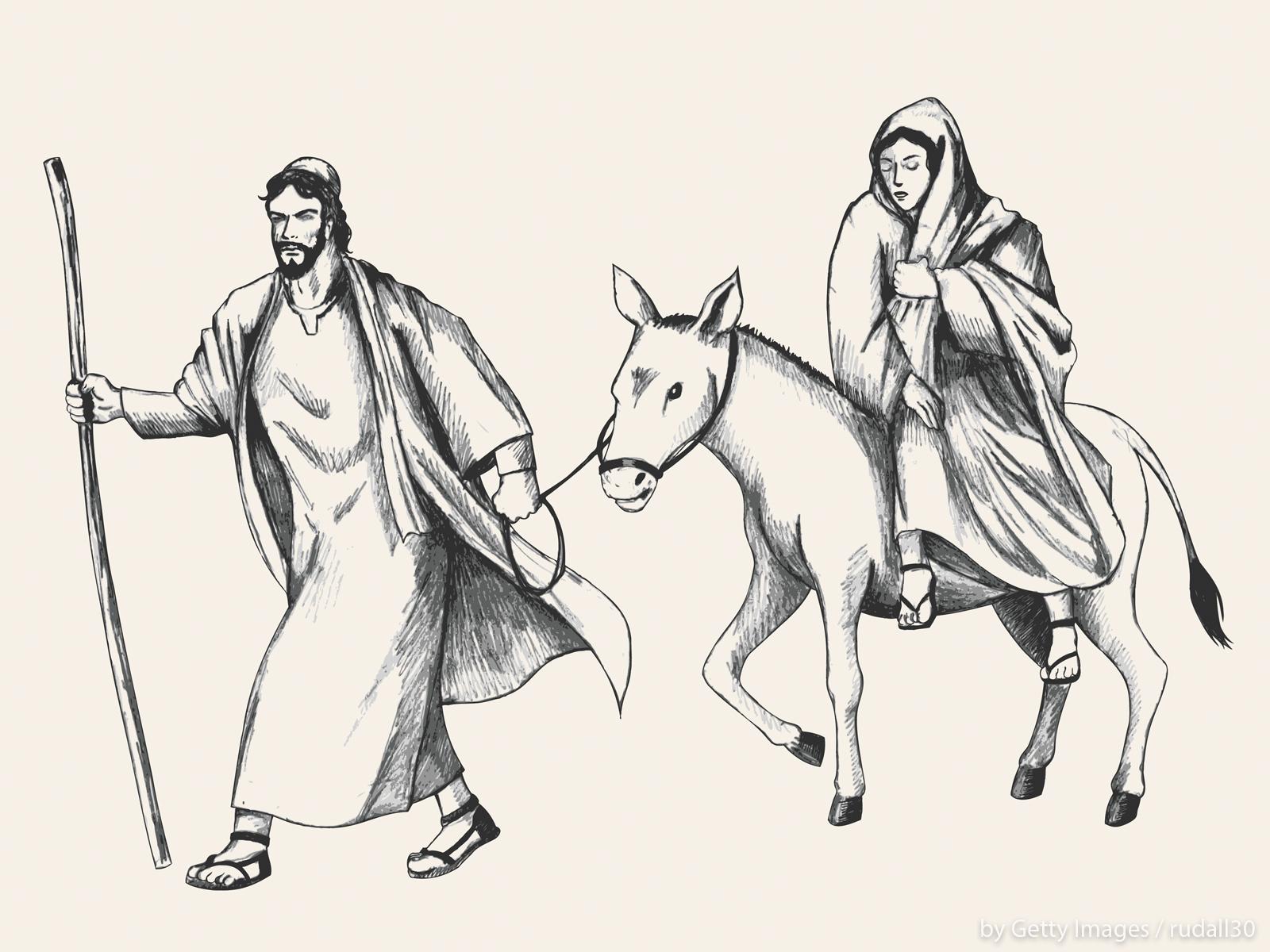 Nossa Senhora é a mãe de Jesus, o refugiado