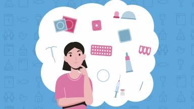 Qual é a diferença entre o método natural e o método contraceptivo?