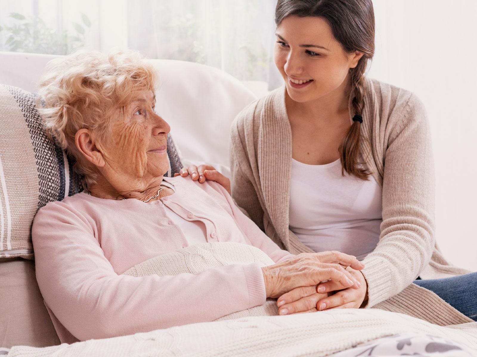 Relação de amor e cuidado com os pais na velhice