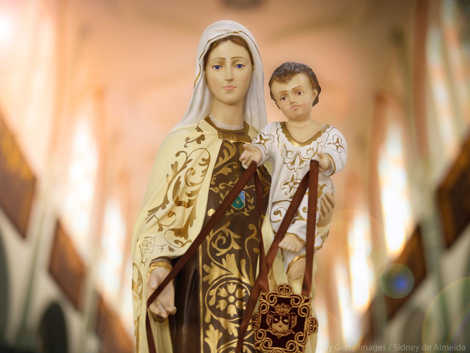 A devoção a Nossa Senhora do Carmo _ formação