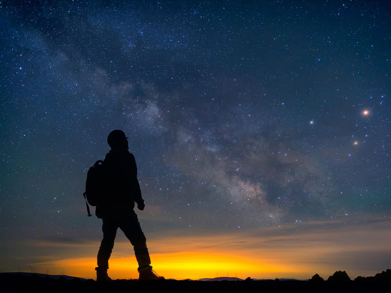 Precisamos aprender a contemplar o céu