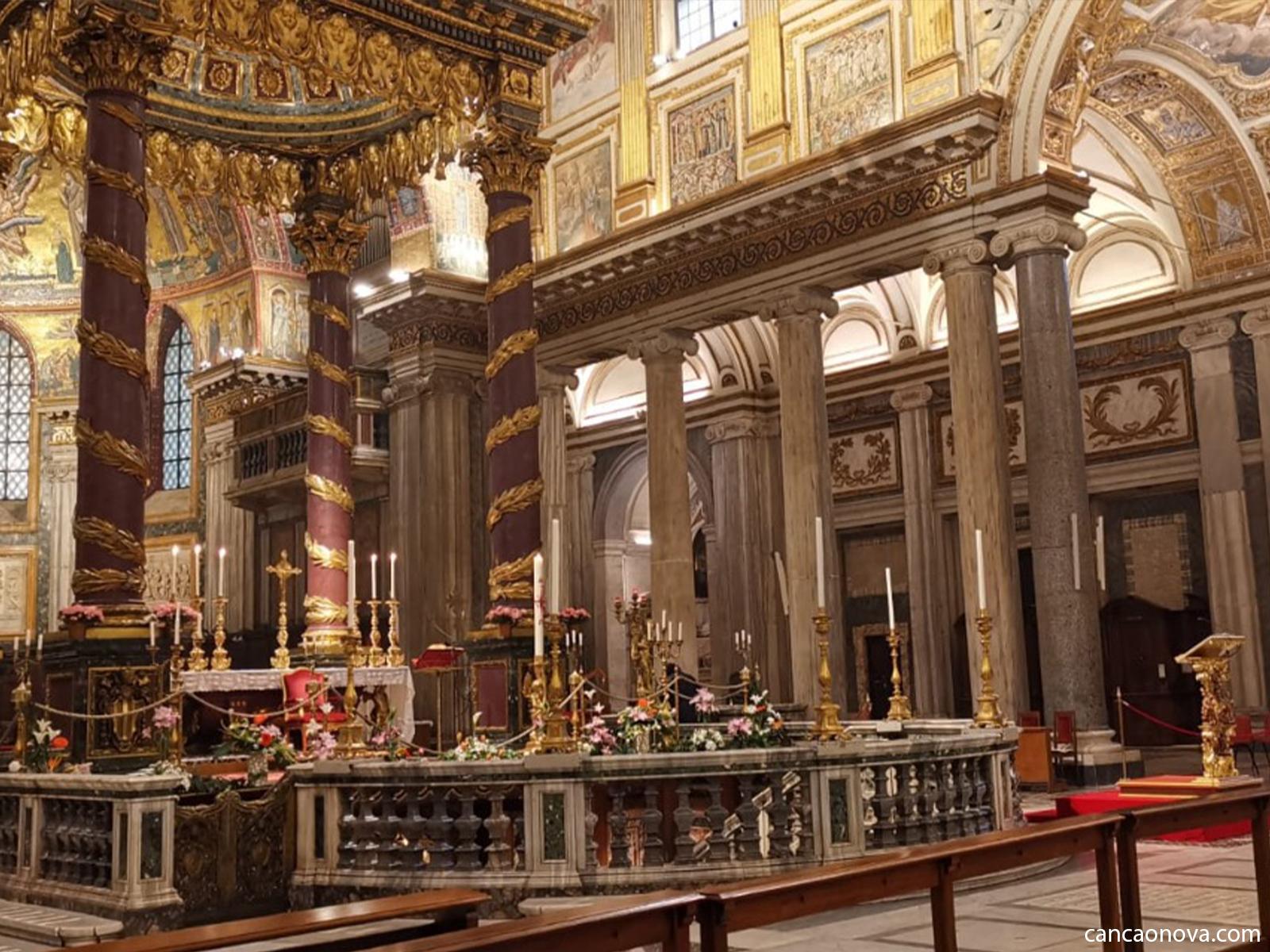 Basílica Santa Maria Maior. Foto: Arquivo CN
