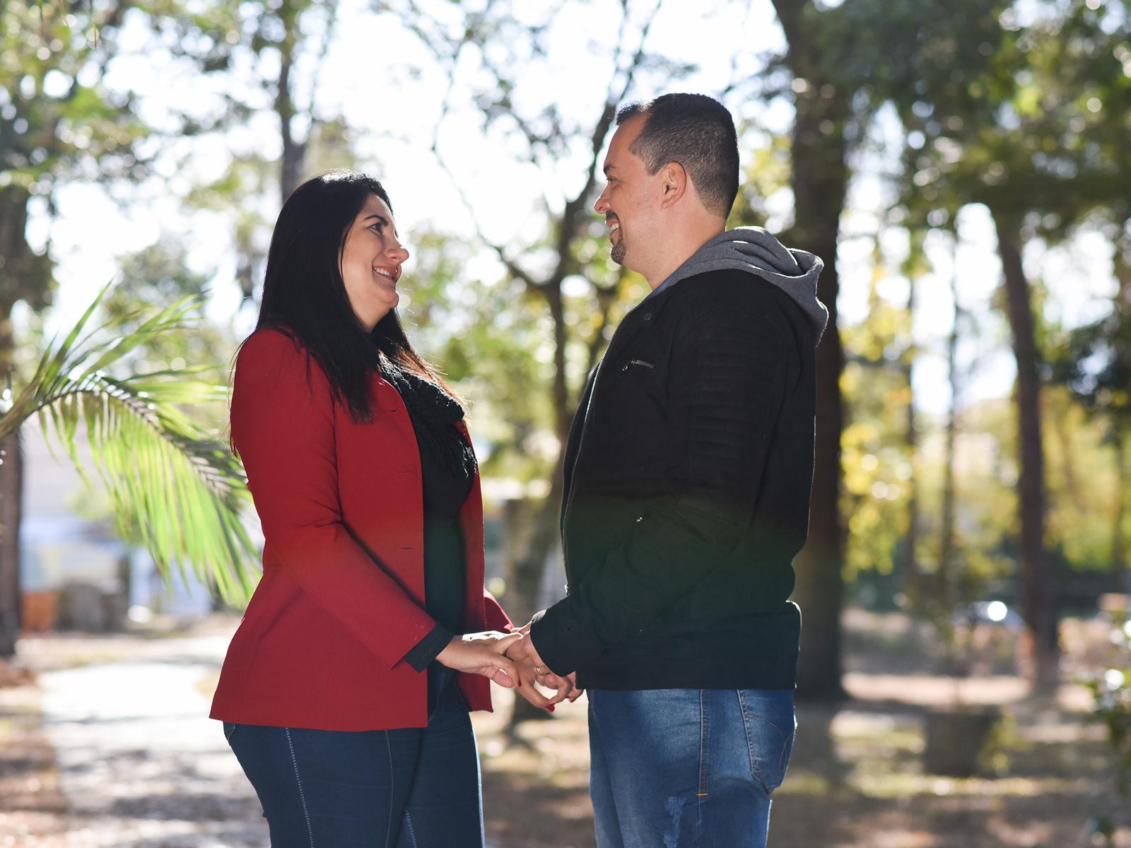O casal, Diogo e Tiará, nos conta sobre a vocação matrimonial