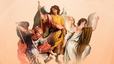 A festa dos arcanjos Miguel, Gabriel e Rafael