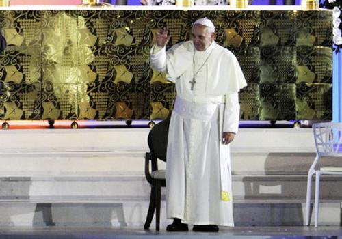 Celebração papa Francisco