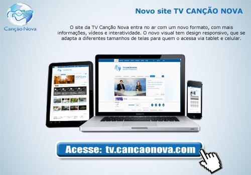 Assista à TV Canção Nova ao vivo pelo celular