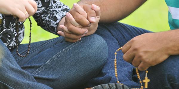 juntos em oração