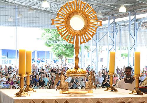 adoração dentro