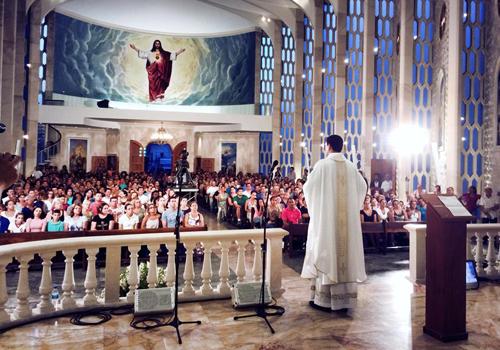 Padre Adriano Zandoná Missa CN São Paulo