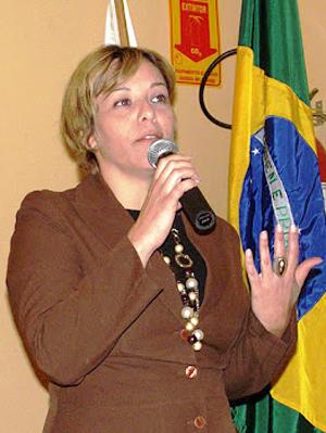Cláudia Maria Pereira de Cristo (Foto: Arquivo pessoal)