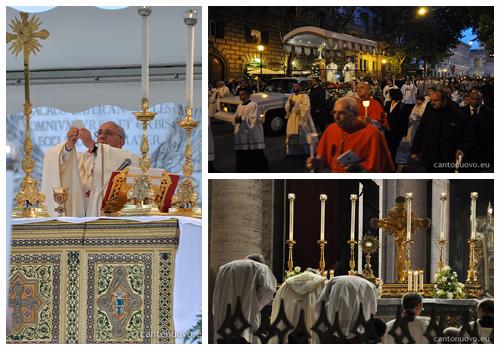 Corpus Christi Roma 2013