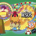 Hoje é dia de Arraiá do Revolução Jesus