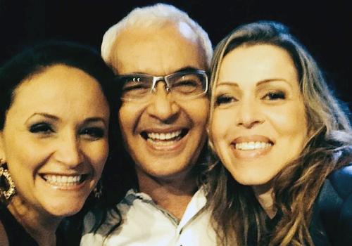 Ziza Fernandes Ricardo Sá e Adriana Arydes