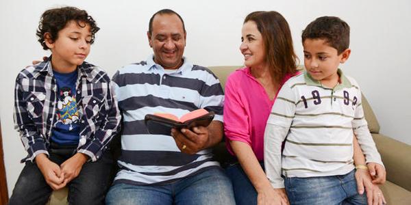 A eficácia da oração em família