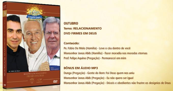 DVD Outubro Casa Nova Canção NOva