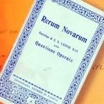Rerum Novarum, programa se aprofunda na Doutrina
