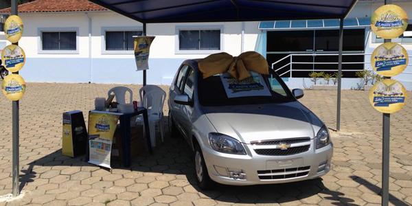 Promoção entrega primeiro carro sorteado