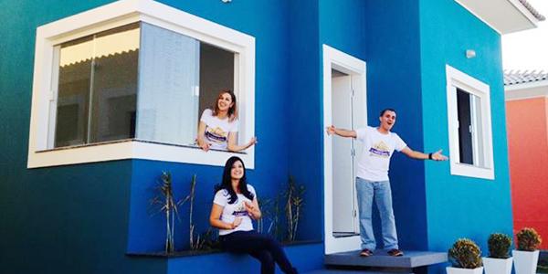 Promoção realiza o sorteio de uma casa nova