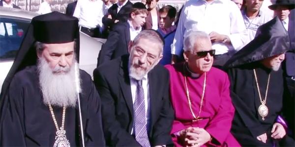 Religiões se unem contra a violência em Jerusalém