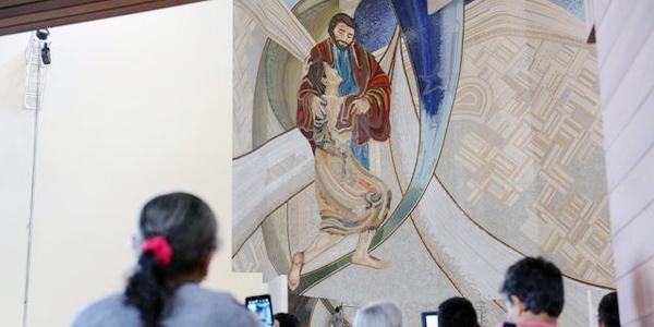 Acompanhe a dedicação do Santuário do Pai das Misericórdias