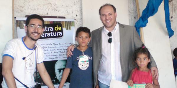 Andrey do Amaral fala sobre Literatura Brasileira