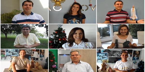 Apresentadores da TVCN desejam a todos um feliz Natal