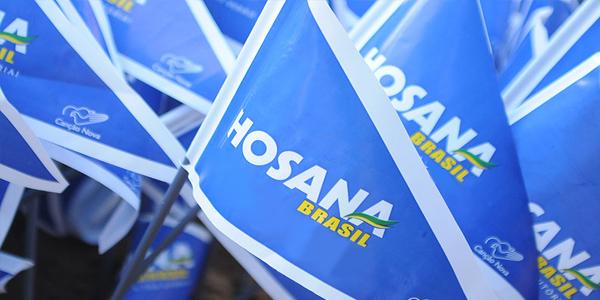Hosana Brasil na tela da sua TV.