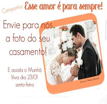 Campanha Esse amor é para sempre