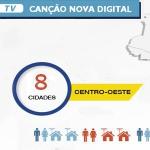 Goiás e Mato Grosso são contempladas com sinal digital