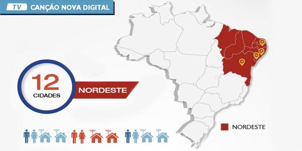 Nordeste acompanha TV Canção Nova em alta definição