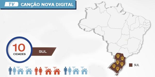 TV Canção Nova em HD é realidade em Santa Catarina e Paraná