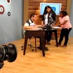 Bastidores da TV Conheça a rotina de produção do Manhã Viva