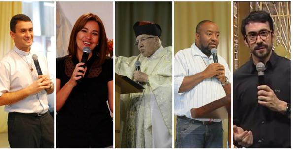 Pregadores que falarão sobre a Divina Misericórdia