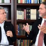 Professor Felipe Aquino entrevista Scott Hahn