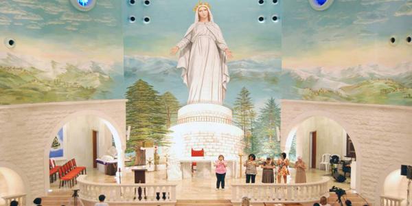 Catedral Maronita Nossa Senhora do Líbano em São Paulo (SP).