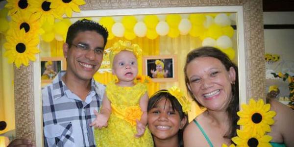 Ilmar, Ruth e suas filhas