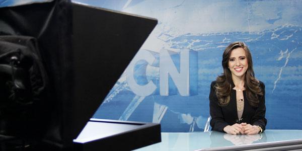 Bastidores de TV Conheça a rotina da âncora do CN Notícias