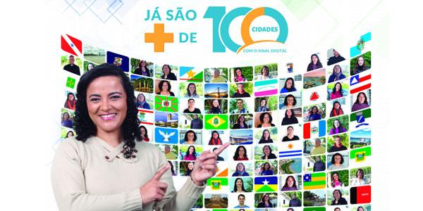 100 cidades já sintonizam o sinal digital da TV Canção Nova