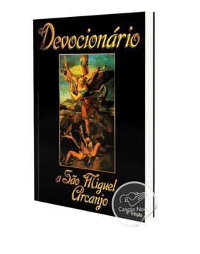 Livro Devocionário A São Miguel Arcanjo